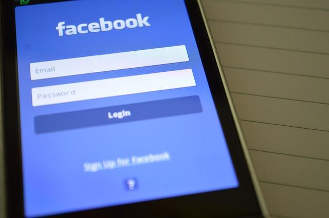 facebook přihlášení