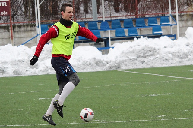 fotbal v zimě
