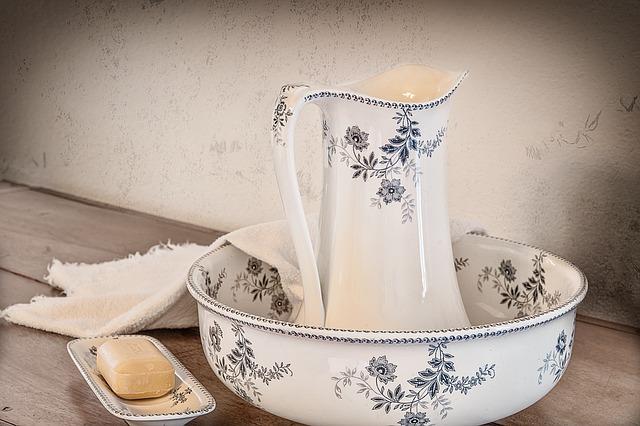 keramika na mytí
