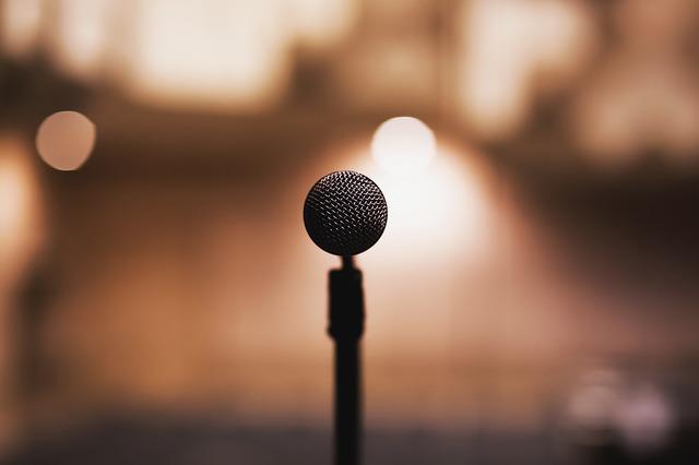 kulatý mikrofon