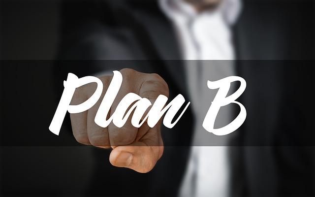 prst na plánu b