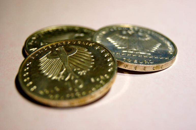 německé mince