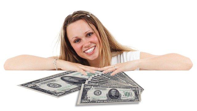 slečna a peníze