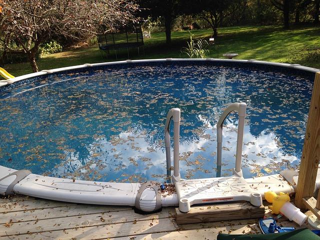 údržba a čištění bazénu