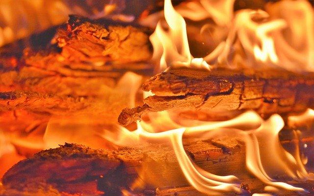 Oheň symbol tepla